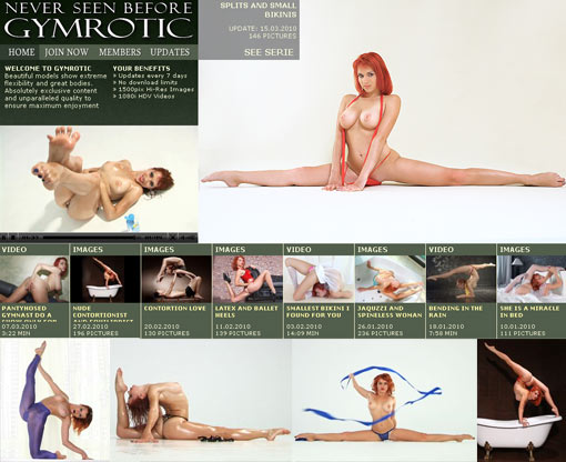 Nude contortionist fetish fantasies