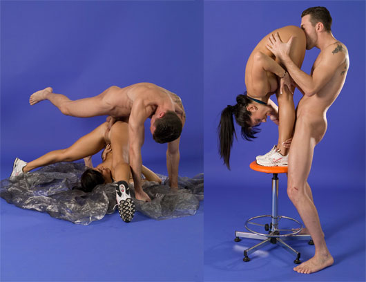 Extreme contortion sex