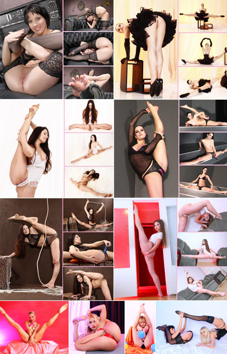 Exclusive nude contortion sex every week